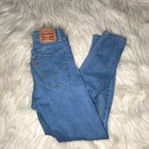 Levis High Wasted Jeans